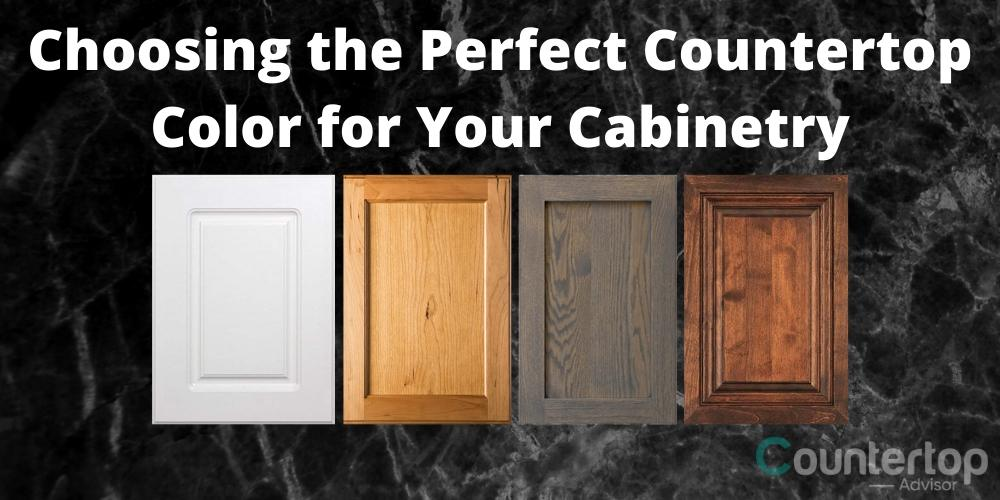 Choosing the Perfect Countertop Color for Your Cabinetry