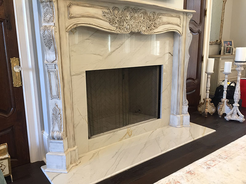 Mont Blanc Fireplace Surround