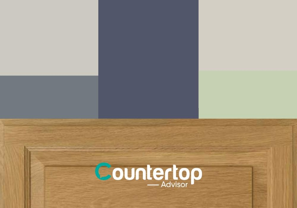 Top 5 Wall Colors For Kitchens With Oak Cabinets And White Countertops Kitchen Countertops